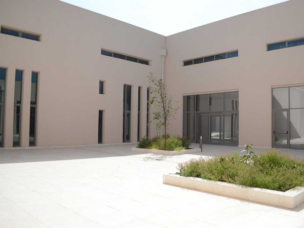 Polycentric Museum at Vergina-Central Museum building