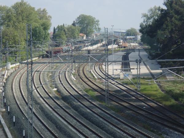 Renovation of Katerini's Railroad Station