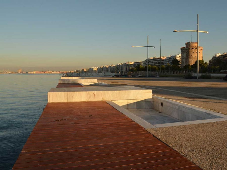 Rennovation of the New Harbour Site of Thessaloniki