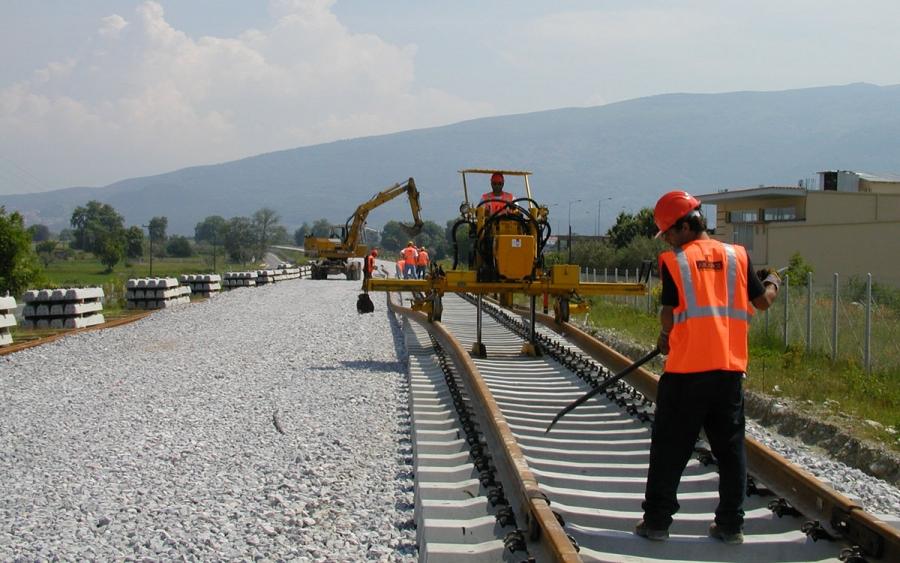 Υπολειπόμενες εργασίες για την ολοκλήρωση της νέας σιδηροδρομικής γραμμής μεταξύ Σ.Σ. Ευαγγελισμού και Σ.Σ. Λεπτοκαρυάς