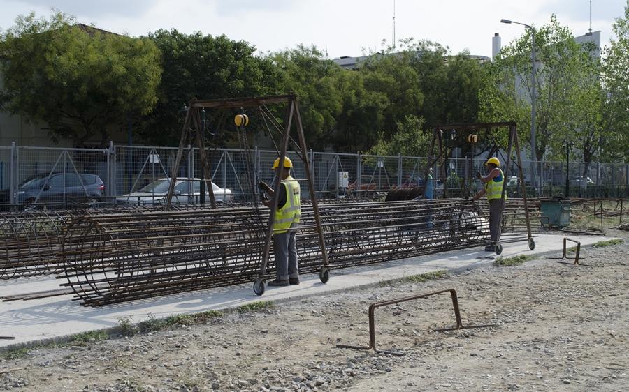 Κατασκευή Κάτω Διάβασης Σιδηροδρομικών Γραμμών της οδού Αγ. Παρασκευής - Ν. Μενεμένη Θεσσαλονίκης